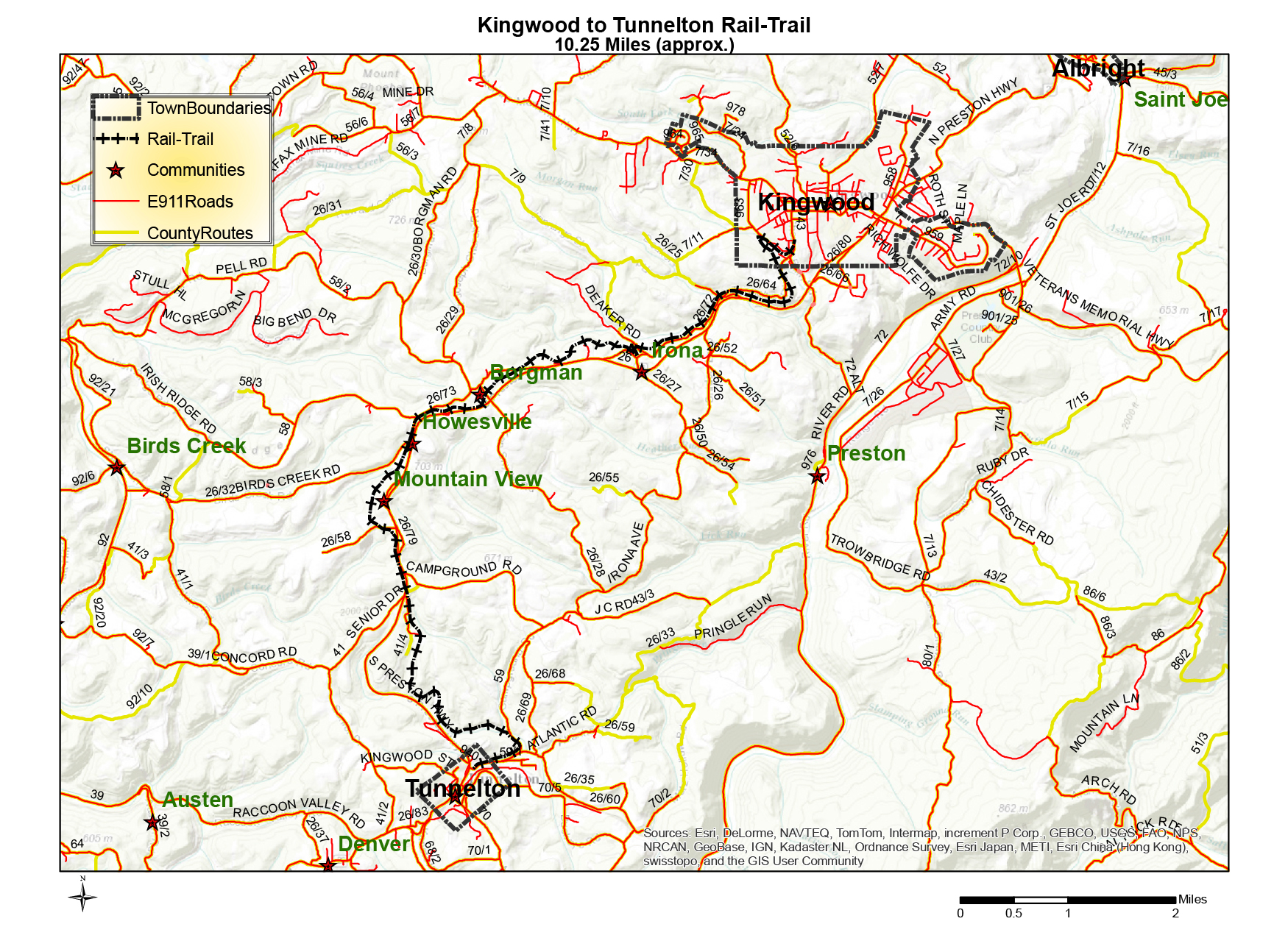 Trails Friends Of The Cheat - West virginia rivers map